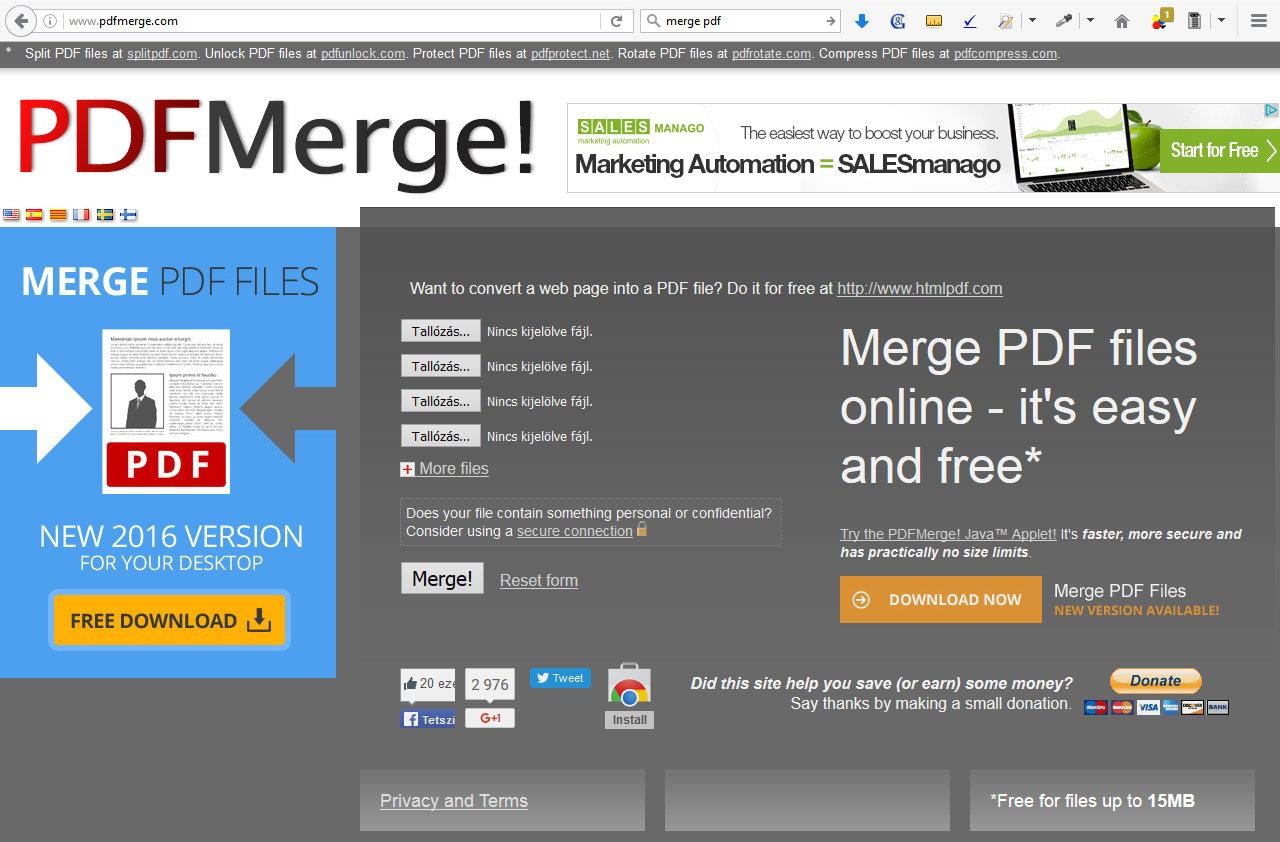 Napi trükk: Hogyan tudok összefűzni több PDF fájlt?