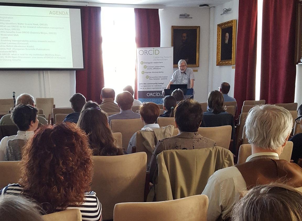 Holl András hozzászólása az ORCID Workshopon