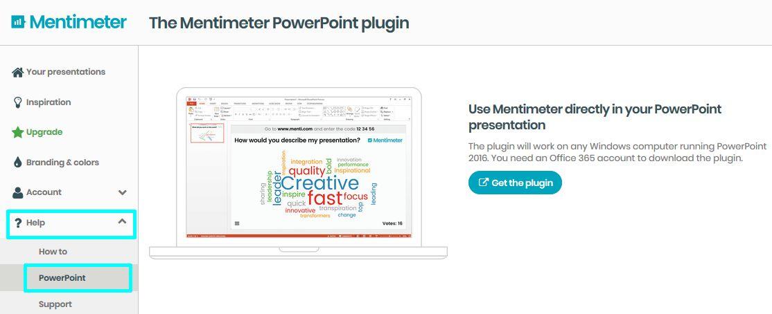 10. ábra - PowerPoint integrációs lehetőség