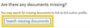 Hiányzó dokumentum hozzáadása